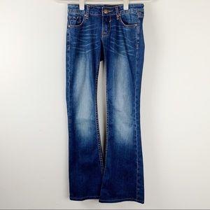 Vigoss Studio Dark Wash Bootcut Jeans Size 00 / 24